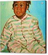African Cutie Acrylic Print