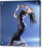 African Dancer Left View Acrylic Print