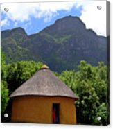 African Hut South Africa Acrylic Print
