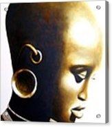 African Lady - Original Artwork Acrylic Print
