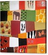 African Matrix Acrylic Print