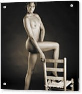 African Nude With Chair 1189.01 Acrylic Print