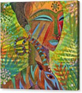 African Queens Acrylic Print by Jennifer Baird