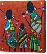 African Safari Acrylic Print