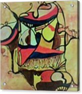 African Soul Acrylic Print