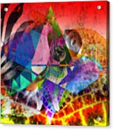 African Story In Three Time Travels Acrylic Print