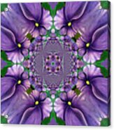 African Violet Wave Acrylic Print