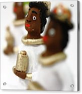 African Wise Men Acrylic Print by Gaspar Avila
