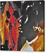 African Woman Statue Acrylic Print