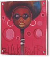 Afro American Women Acrylic Print