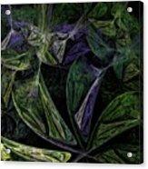 Afro-violet Feeling Acrylic Print