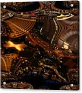 After A Night In Vegas Acrylic Print