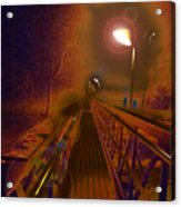 After Bridge Acrylic Print