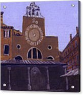 After Campo San Giacometto Acrylic Print