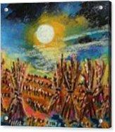 After Harvest Night Acrylic Print