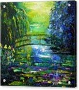 After Monet Acrylic Print
