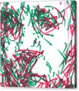 After Rembrandt - Self Portrait Acrylic Print