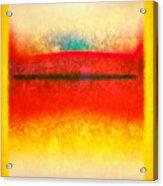 After Rothko 8 Acrylic Print