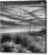 After Sunset In B And W Acrylic Print
