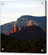 After Sunset In Sedona Acrylic Print