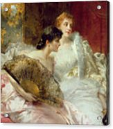 After The Ball Acrylic Print by Conrad Kiesel