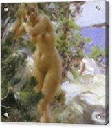 After The Bath, 1895 Acrylic Print