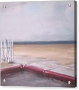 After The Rain Newport Beach Acrylic Print