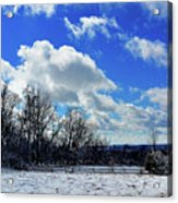 After The Snow Storm Acrylic Print