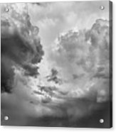 After The Storm Bw  Acrylic Print