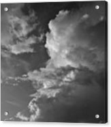 After The Storm In Black And White Acrylic Print