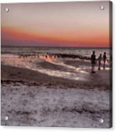 After The Sunset Acrylic Print
