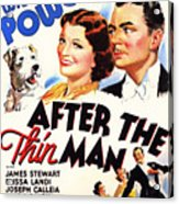 After The Thin Man 1935 Acrylic Print