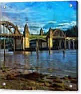 Afternoon At Siuslaw River Bridge Acrylic Print