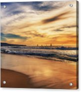 Afternoon At The Beach Acrylic Print