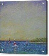 Afternoon Sailing Acrylic Print
