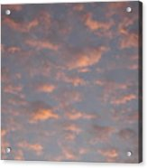 Afternoon Sky 11 Acrylic Print