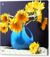 Afternoon Sunflowers Acrylic Print