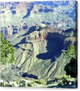 Afternoon View Grand Canyon Acrylic Print