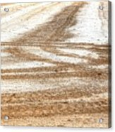 Ag Brushstrokes Sq Acrylic Print