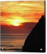 Agate Beach Oregon Acrylic Print