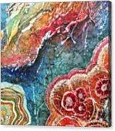 Agate Inspiration - 22a Acrylic Print