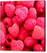Agenda For Today ... Raspberry Jam Acrylic Print by Gwyn Newcombe