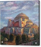 Agia Sofia Acrylic Print