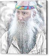 Aging Boomer Acrylic Print