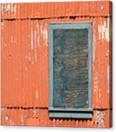 Aging Contrasts Acrylic Print