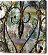 Aging With Time Acrylic Print by Leslie Kell