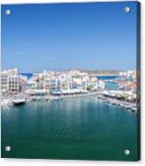 Agios Nikolaos Overview Acrylic Print