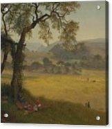 A_golden_summer_day_near_oakland Acrylic Print