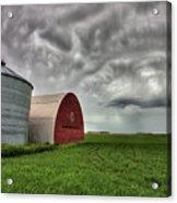 Agriculture Storage Bins Granaries Acrylic Print