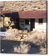 Aguereberry Camp - Death Valley Acrylic Print